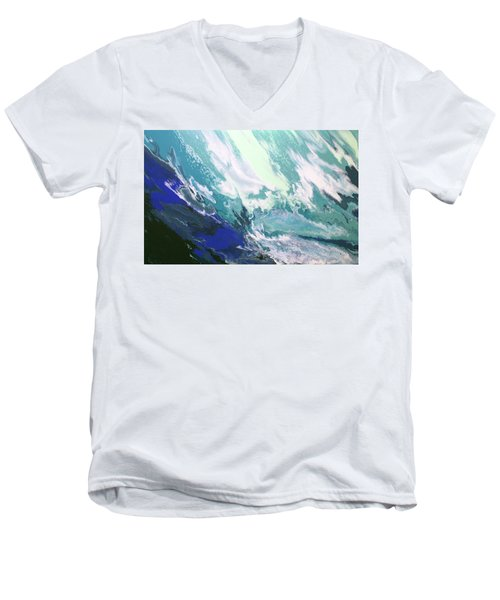 Aquaria Men's V-Neck T-Shirt