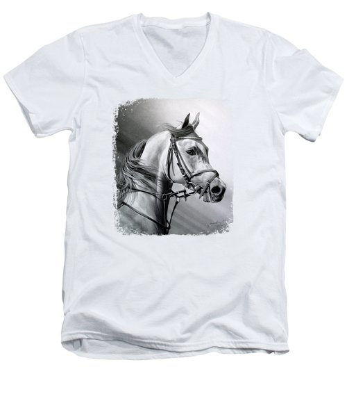 Arabian Beauty Men's V-Neck T-Shirt