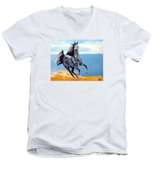 Arabian Dreams Men's V-Neck T-Shirt