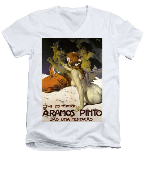 A.ramos Pinto Men's V-Neck T-Shirt