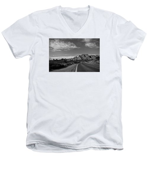 Arches Road Men's V-Neck T-Shirt