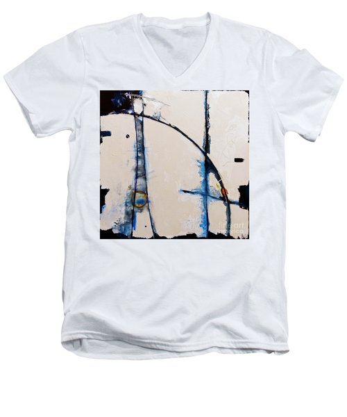 Arches To The Clouds Men's V-Neck T-Shirt by Gallery Messina