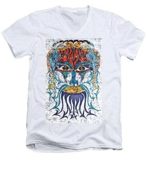 Archetypal Mask Men's V-Neck T-Shirt