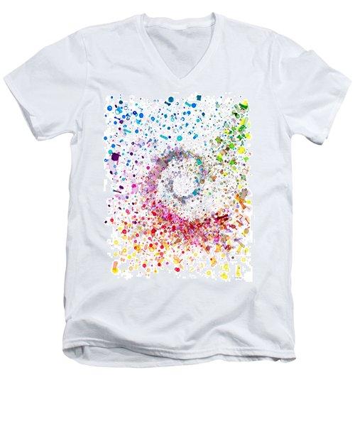 Archimedes Chiral Men's V-Neck T-Shirt