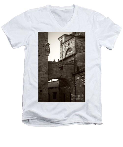 Architecture Of Pistoia Men's V-Neck T-Shirt