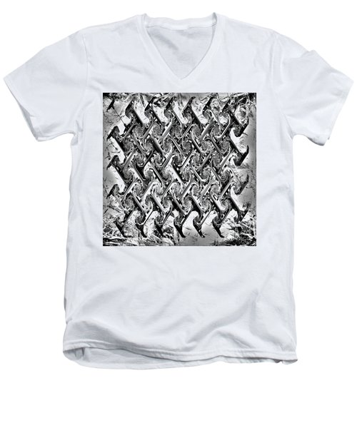 Are There Diamonds In Your Mine Men's V-Neck T-Shirt by Danica Radman
