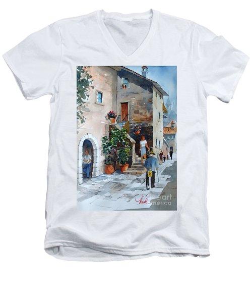 Arezzo-3 Men's V-Neck T-Shirt