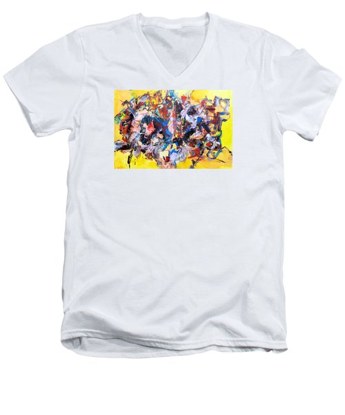 Aricept Memories Men's V-Neck T-Shirt