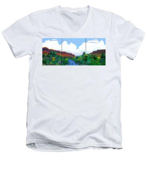 Arizona Sky Men's V-Neck T-Shirt