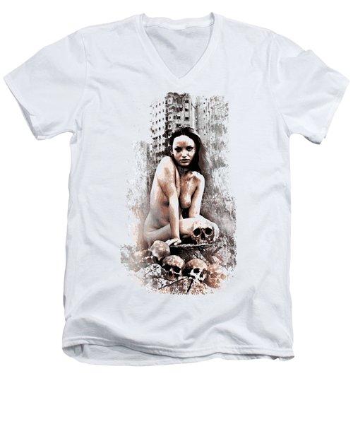 Armageddon's Childern Men's V-Neck T-Shirt