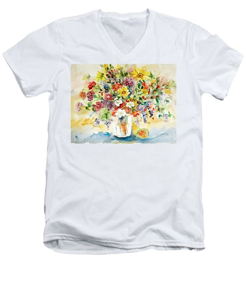 Arrangement IIi Men's V-Neck T-Shirt