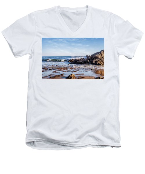 Arroyo Sequit Creek Surf Riders Men's V-Neck T-Shirt
