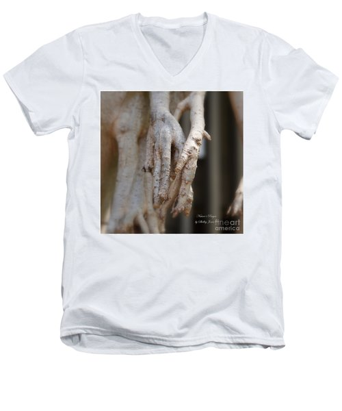 Art Around The World Project Men's V-Neck T-Shirt