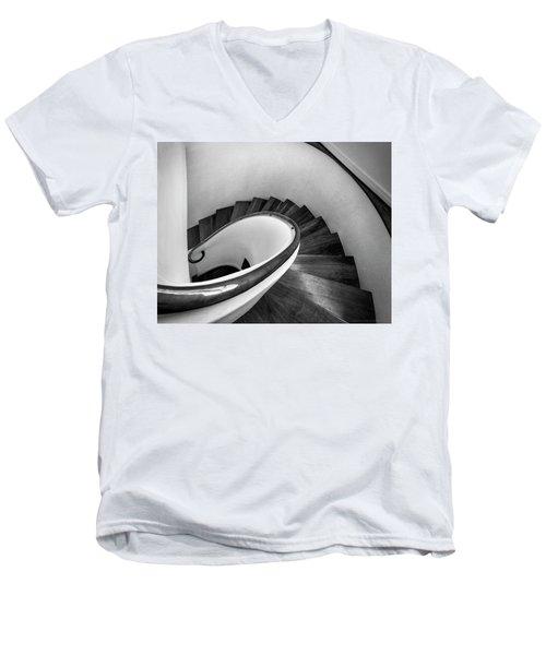 Art Mimics Life  Men's V-Neck T-Shirt