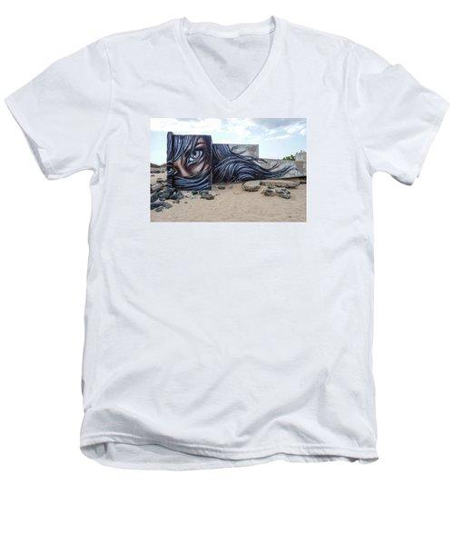 Art Or Graffiti Men's V-Neck T-Shirt