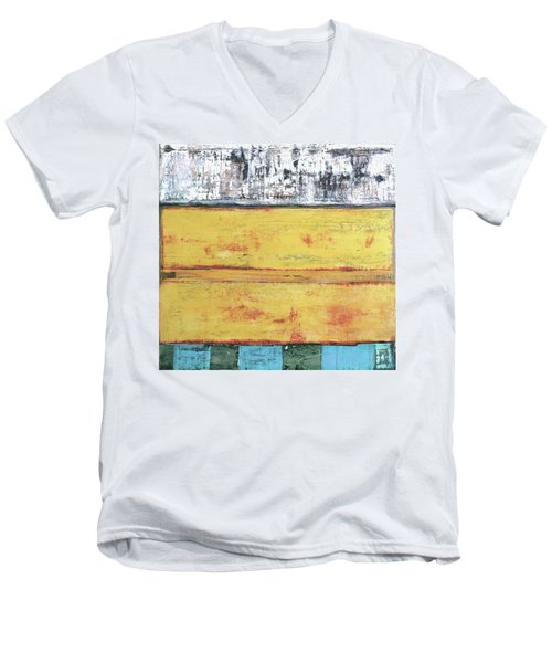 Art Print Abstract 34 Men's V-Neck T-Shirt