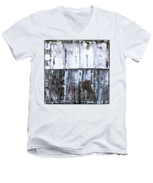 Art Print Abstract 45 Men's V-Neck T-Shirt