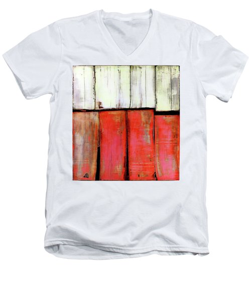 Art Print Abstract 88 Men's V-Neck T-Shirt