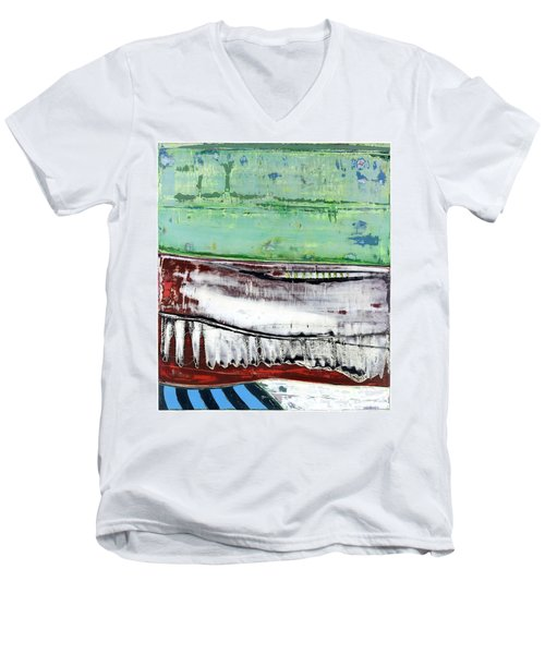 Art Print Abstract 97 Men's V-Neck T-Shirt
