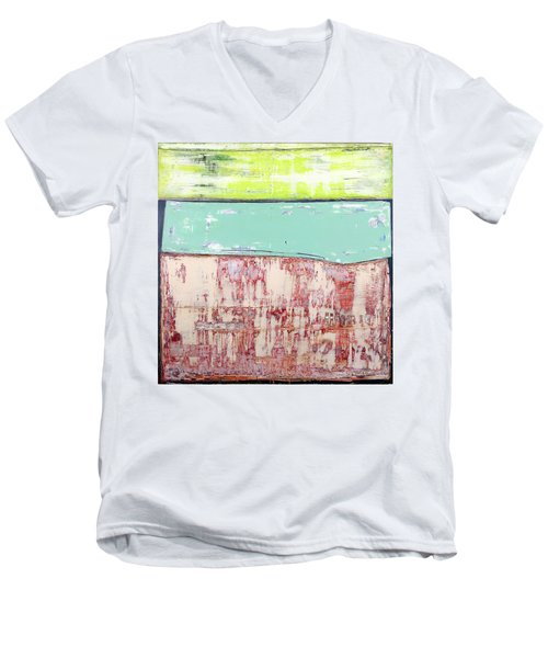 Art Print Abstract 19 Men's V-Neck T-Shirt
