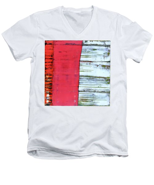 Art Print Abstract 75 Men's V-Neck T-Shirt