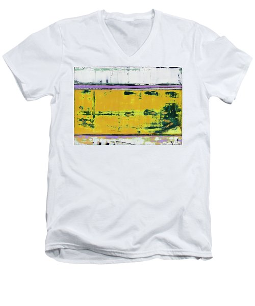 Art Print Abstract 81 Men's V-Neck T-Shirt