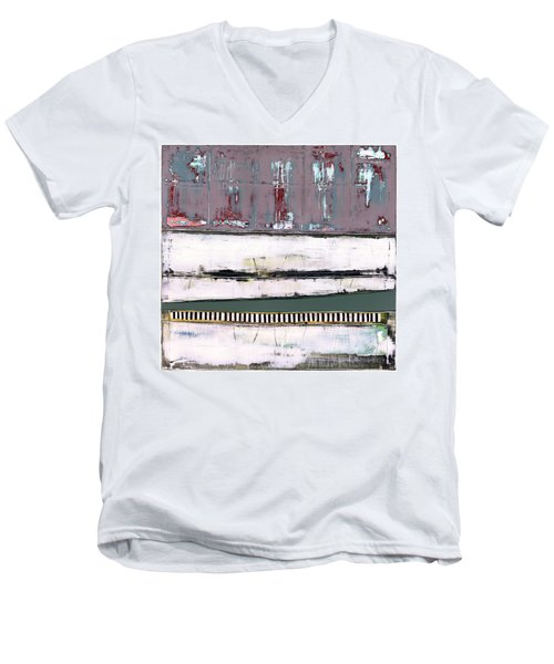 Art Print Abstract 86 Men's V-Neck T-Shirt
