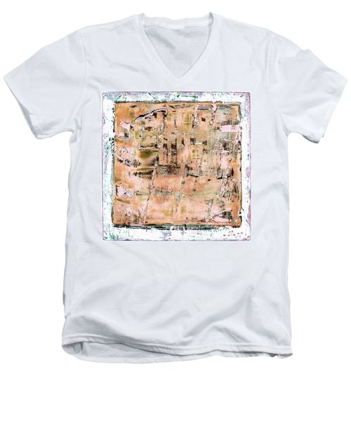 Art Print California 02 Men's V-Neck T-Shirt