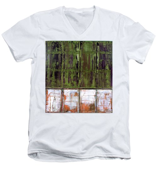 Art Print Matchday Men's V-Neck T-Shirt