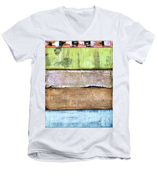 Art Print Sierra 4 Men's V-Neck T-Shirt