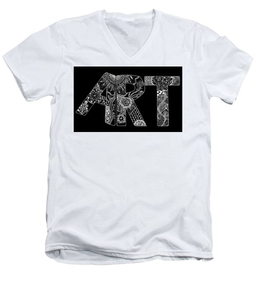 Art Within Art Men's V-Neck T-Shirt by Samantha Thome
