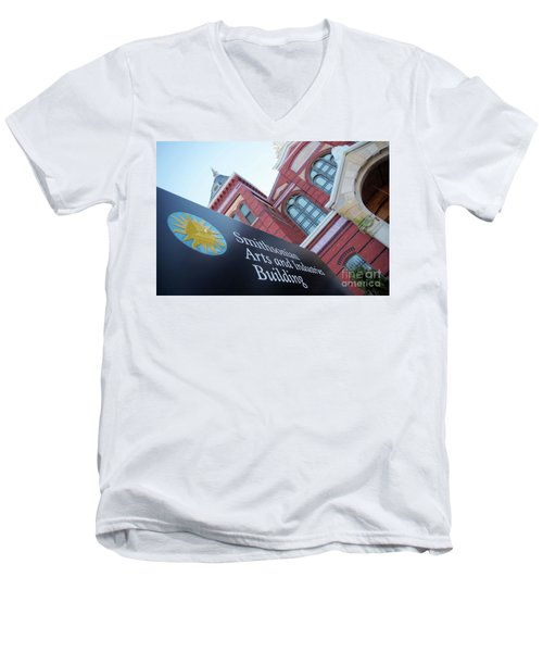 Arts And Industry Museum  Men's V-Neck T-Shirt by John S