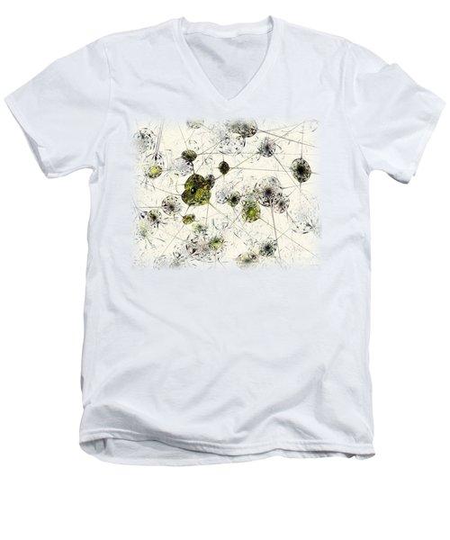 Neural Network Men's V-Neck T-Shirt by Anastasiya Malakhova