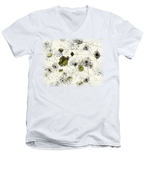 Neural Network Men's V-Neck T-Shirt