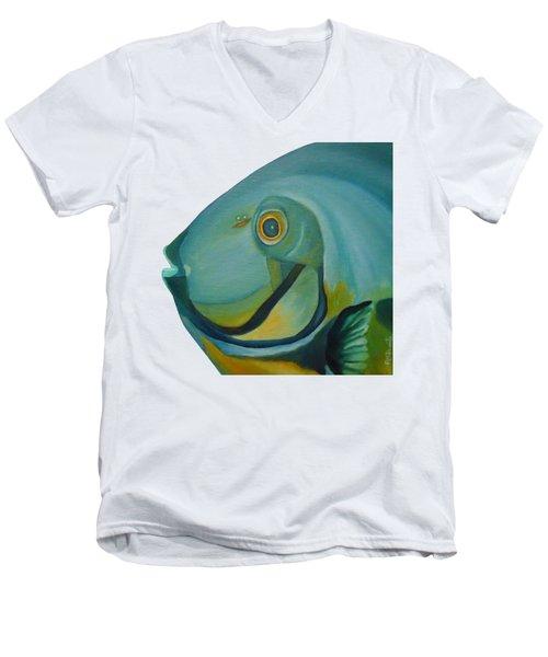 Blue Fish Men's V-Neck T-Shirt