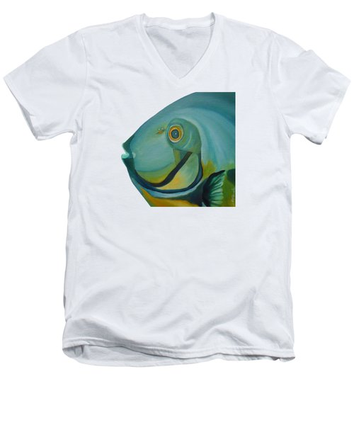 Blue Fish Men's V-Neck T-Shirt