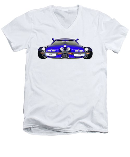 Dual Ghia Men's V-Neck T-Shirt