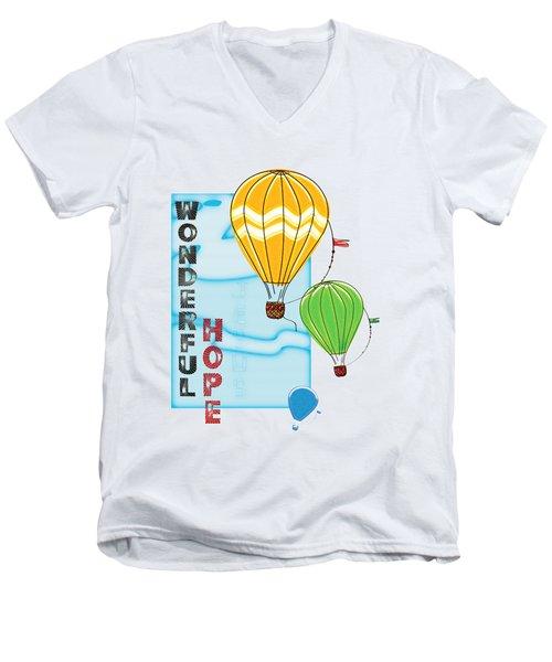 A Wonderful Hope Men's V-Neck T-Shirt