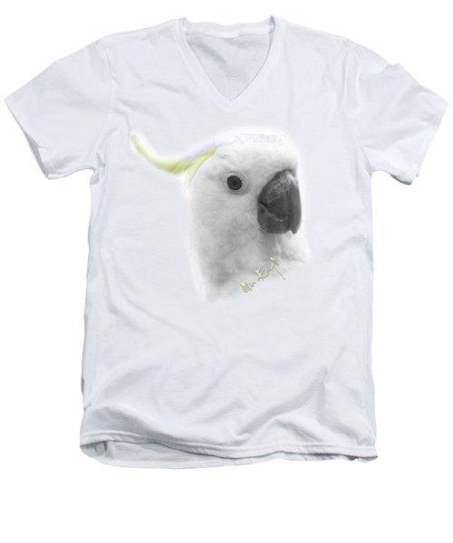 Three Cockatoos Men's V-Neck T-Shirt by iMia dEsigN