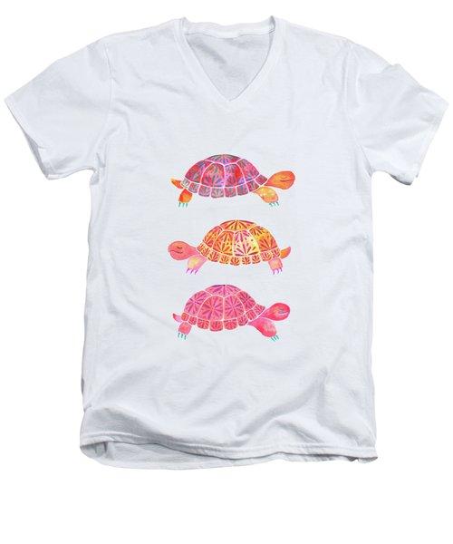 Turtles Men's V-Neck T-Shirt