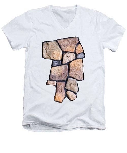 Psaumes 114 Men's V-Neck T-Shirt