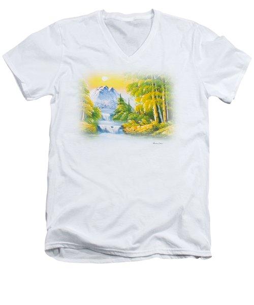 Good Morning Men's V-Neck T-Shirt