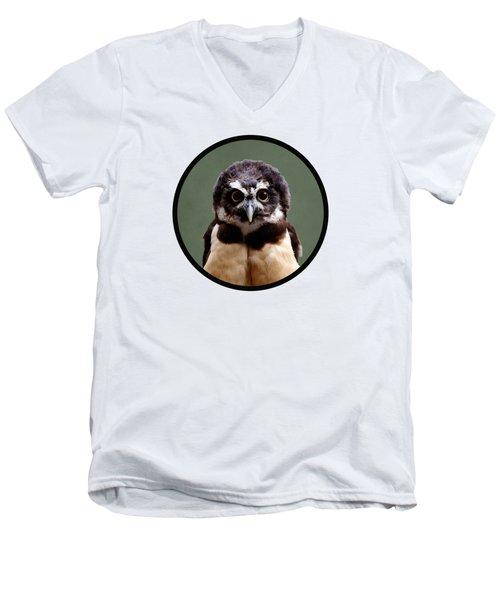 Visual Definition Of Adorable Men's V-Neck T-Shirt