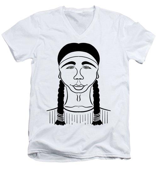 Minnehaha Men's V-Neck T-Shirt
