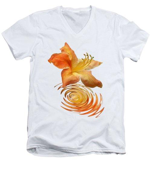 Azalea Ripples Men's V-Neck T-Shirt