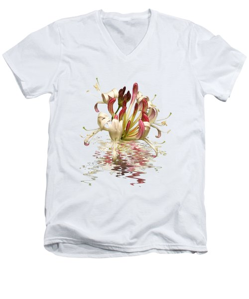 Honeysuckle Reflections Men's V-Neck T-Shirt