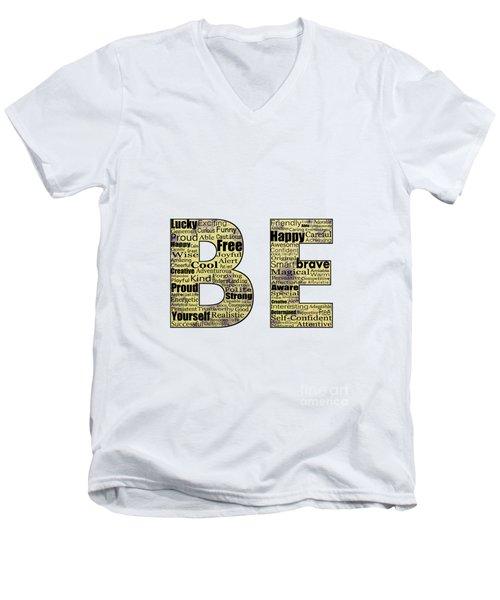 Be Inspired Men's V-Neck T-Shirt