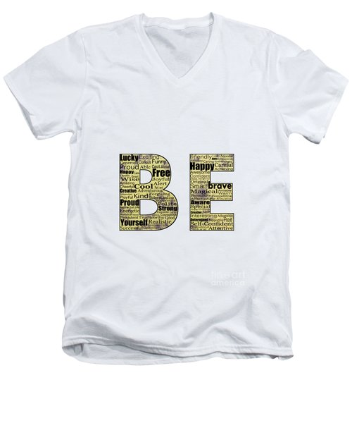 Be Inspired Men's V-Neck T-Shirt