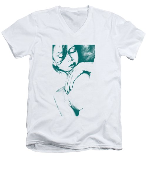 As Heaven Awaits - Celadon Men's V-Neck T-Shirt
