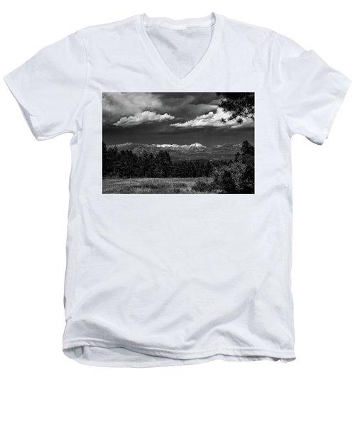 As Summer Begins Men's V-Neck T-Shirt